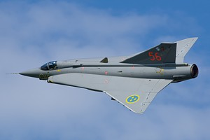 Sweden - Air Force Saab J-35 Draken 56